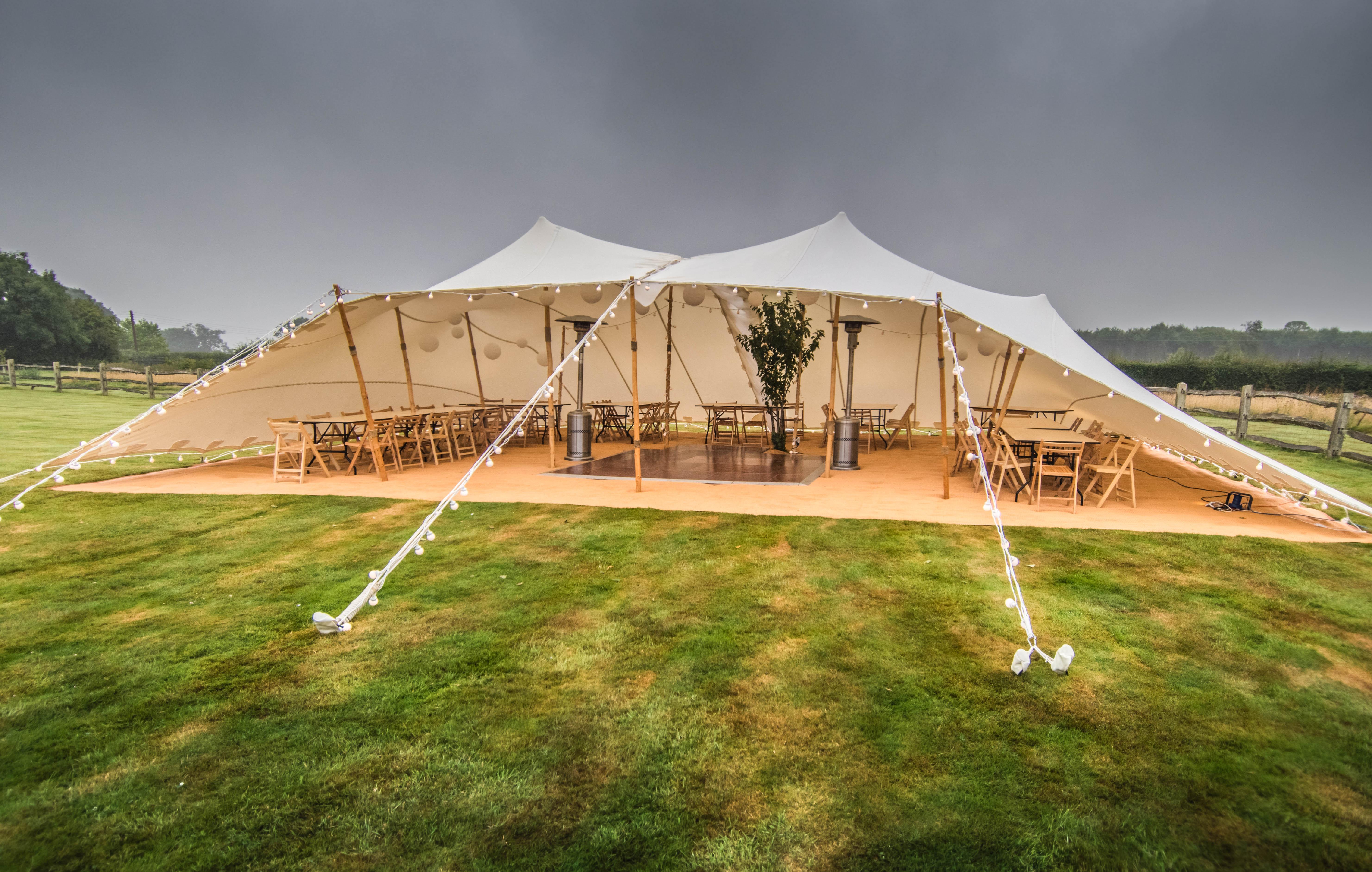 4Elements Tents - 2 x 10x7.5